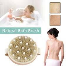 Modern Bath Brushes Bristle  Body Brush Cellulite Shower Dry Skin  Scrubber
