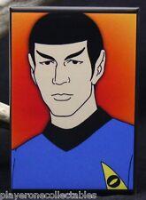 """Star Trek Spock 2"""" X 3"""" Fridge / Locker Magnet. Animated Series Leonard Nimoy"""