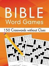 Bible Word Games: 150 Crosswords Without Clues by Sara Stoker (2016, Paperback)