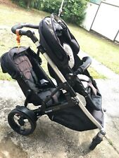 Double Pram /Steelcraft Strider Compact Pram With Second Seat & Accessories