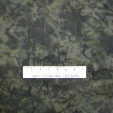 Calico Fabric - Dark Green Tonal Blender - Cotton YARD