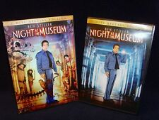 Night at the Museum (DVD, 2007, 2-Disc Set, Includes 3D/Holographic Cover) Mint!