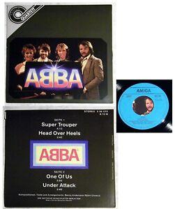 ABBA Super Trouper/Head Over Heels +2 . DDR Amiga Quartett EP im Orig.-Cover TOP