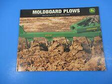 Original John Deere Sales Brochures Moldboard Plows  M1381