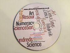 CENTINAIA di primaria Insegnamento Risorse su un CD