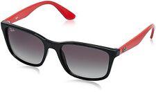 Ray-Ban RB4269I 623311 56mm Wayfarer Sunglasses Black-Red/Grey Gradient Lens
