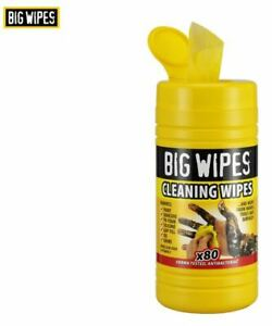 Big Wipes Industrial Cleaning Wipes - 80 Wipes