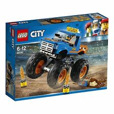 LEGO City Monster Truck Block Building Toy 60180 from Japan