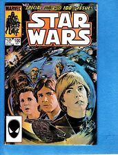 Star Wars #100, 1985, NM- 9.2, painted cover, Marvel,52 pages