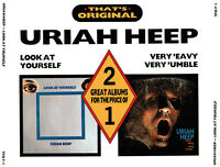 (2CD's) Uriah Heep - Look At Yourself / Very 'eavy Very 'umble - Gypsy, u.a.
