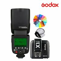 Godox TT685N 2.4G TTL HSS Camera Flash Speedlite X1T-N Transmitter For Nikon