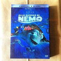ALLA RICERCA DI NEMO Walt Disney dvd Italiano x bambini cartoni animati