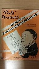Fats waller's original piano conceptions: musique (D4)