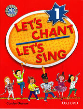 Oxford LET'S CHANT LET'S SING 1 / CAROLYN GRAHAM with CD SONGS for CHILDREN @New
