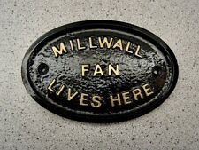 MILLWALL  - HOUSE DOOR PLAQUE SIGN BOROUGH GATE WALL