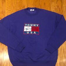 BNWOT Vintage Bootleg Tommy Hilfiger Tommy Jeans Big Flag Sweatshirt sz XL