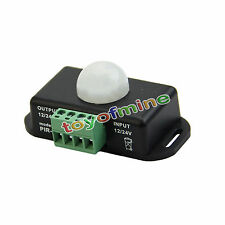 Las luces LED auto de 12V-24V 6A PIR sensor de movimiento por infrarrojos y
