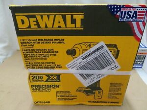 Dewalt DCF894B 1/2 Mid Range Impact Wrench w Detent Pin New 2 DAY SHIP