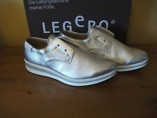 Ladies LEGERO 950 CARRERA Silver SYNTHETIC Slip on SHOE Size UK 4 EUR 37 New!