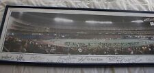 STEELERS TEAM PANO 39x14 3 RIVERS 45 YARD LINE 15 SIGNATURE HALL OF FAME FRAMED
