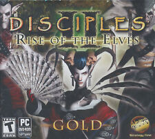 Disciples II RISE OF THE ELVES GOLD 2 Windows 7 PC Game