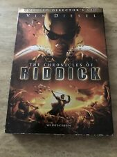 The Chronicles Of Riddick (Dvd, 2004, Unrated, Directors Cut, Widescreen)