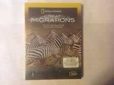 National Geographic: Great Migrations (DVD, 2010, 3-Disc Set) NEW
