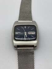 EXCELLENT RARE 1970 SEIKO DX 6106-5419 AUTOMATIC TV WATCH - HACKING FUNCTION