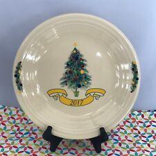 Fiestaware Christmas Tree Dinner Plate Fiesta 2017 Daffodil Holiday Plate NWT