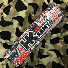 New Hk Army Paintball Headband Padded Tying Head Sweat Band - Hk Haze Lava
