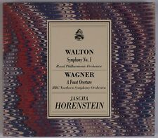 WALTON: Symphony No 1, Wagner Faust, Horenstein INTAGLIO Italy OOP CD NM