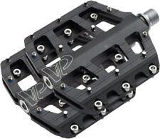 VP Components Vice Trail Pedals - Platform Aluminum 9/16 Black