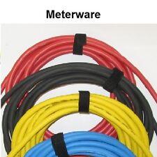 Schwere Gummischlauch-Leitung - H07RN-F - Fachhandelsware - Meterware- 4 Farben