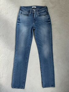 Women's Ladies Levis Made & Crafted Sticks Slim Stretch Jeans W27 L32 (D73)