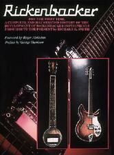 Rickenbacker Guitars Richard Smith The Complete History Of Book NEW!