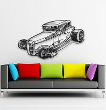 Wall Stickers Vinyl Decal Car Vintage Retro Garage Nice Decor Home (ig894)