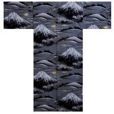 """DM-S00998-01-BK YUKATA with Obi S-M-L-LL(56""""-58""""-60""""-62"""") JAPAN KIMONO MEN's"""