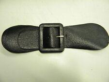 mercerie boucle ceinture 23cm simili cuir noir neuf couture t42