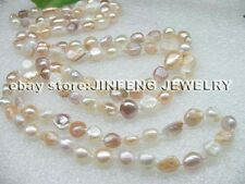 Free shipping 120cm long baroque Freshwater pearl necklace