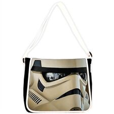 Star Wars Stormtrooper Messenger Shoulder School Bag White (off white)