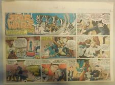 Star Wars Sunday Page #50 by Russ Manning from 2/17/1980 Large Half Page Size!