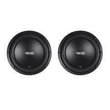 "(2) RE Audio SEX12D2 V2 SEXV2 12"" 1500W RMS Dual 2-Ohm Car Subs Subwoofers"