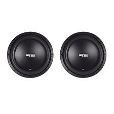 """(2) RE Audio SEX12D2 V2 SEXV2 12"""" 1500W RMS Dual 2-Ohm Car Subs Subwoofers"""