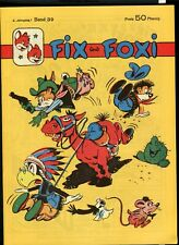 Fix und Foxi Nr. 39    Z. 0-1 Top !!           GBÜ - 52