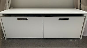 White Drawers, Ideal For Bedroom/under Windowsill. Great Condition