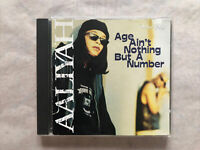 AALIYAH: AGE AIN'T NOTHING BUT A NUMBER CD! 1994 BLACKGROUND/JIVE! J2 1533! EX+