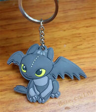 Dreamworks How to Train Your Dragon Night Fury Toothless  Keyring