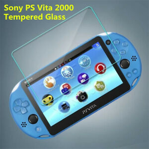 For Sony PSV 1000 PS Vita 2000 Tempered Glass Front Screen Protector Film Guard