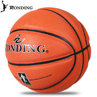 Men Rounding Offical Size #7 PU Leather In/Outdoor Training Basketball Ball Game