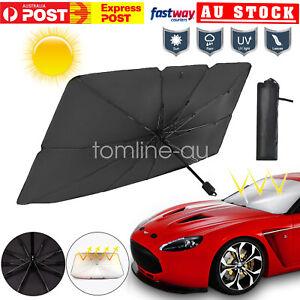Upgrade Car Windshield Umbrella Foldable Front Window Cover Sun Visors Shade - L